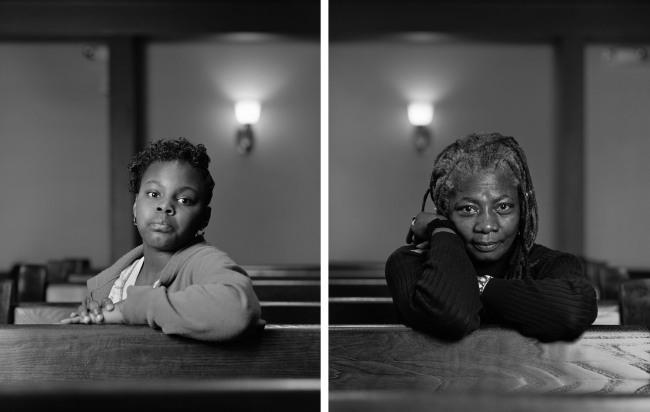 Dawoud Bey (American, b. 1953) 'Mathis Menefee and Cassandra Griffin, Birmingham, AL' 2012