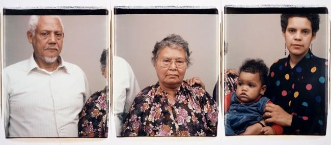 Dawoud Bey (American, b. 1953) 'Max, Celia, Ramon and Candida, New York, NY' 1992