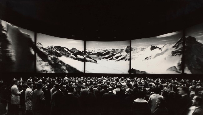 Anonymous. 'The Circarama Circular Theatre of the SBB at Expo 64 in Lausanne' 1964
