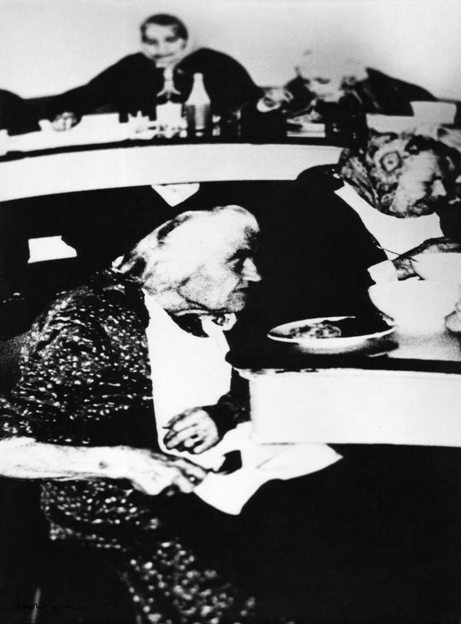 Mario Giacomelli (Italian, 1925-2000) 'Death Will Come and It Will Have Your Eyes, No. 95' (Verrà la morte e avrà i tuoi occhi, No. 95) negative 1966; print 1981
