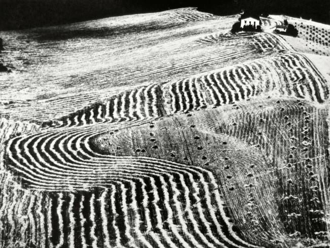 Mario Giacomelli (Italian, 1925-2000) 'Metamorphosis of the Land' (Metamorfosi della terra) 1976