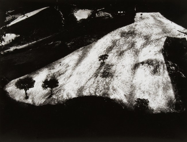 Mario Giacomelli (Italian, 1925-2000) 'Metamorphosis of the Land, No. 19' (Metamorfosi della terra, No. 19) Before 1966, printed 1981