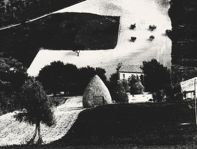 Mario Giacomelli (Italian, 1925-2000) 'Metamorphosis of the Land, No. 2' (Metamorfosi della terra, No. 2) 1971; printed 1981