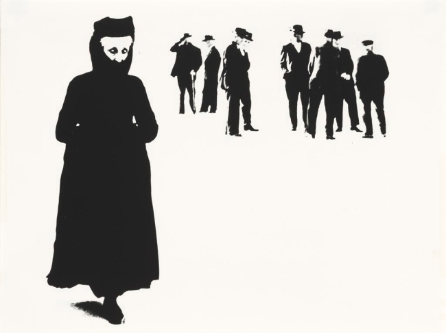 Mario Giacomelli (Italian, 1925-2000) 'Scanno, No. 57' 1957-59; printed 1981