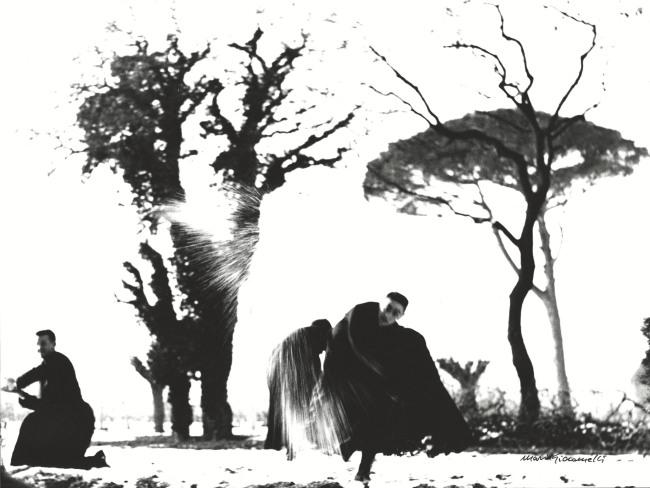 Mario Giacomelli (Italian, 1925-2000) 'Young Priests' (Pretini) Negative 1961-1963