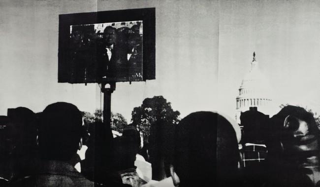 Glenn Ligon (American, b. 1960) 'Screen' 1996