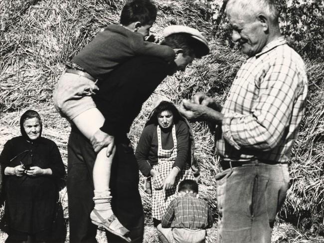 Mario Giacomelli (Italian, 1925-2000) 'The Good Earth, No. 146' (La Buona Terra, No. 146) 1964-65; printed 1981