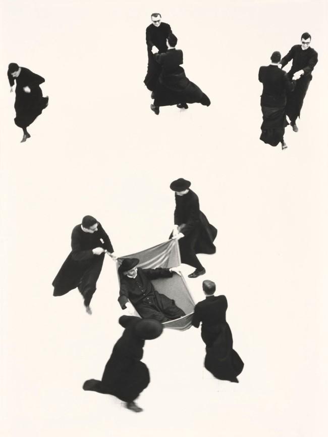 Mario Giacomelli (Italian, 1925-2000) 'Young Priests, No. 71'