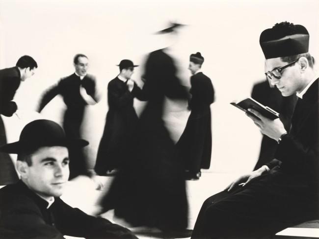 Mario Giacomelli (Italian, 1925-2000) 'Young Priests, No. 70'