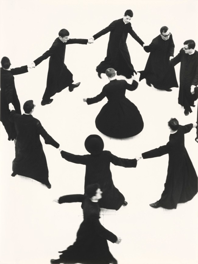 Mario Giacomelli (Italian, 1925-2000) 'Young Priests, No. 74'
