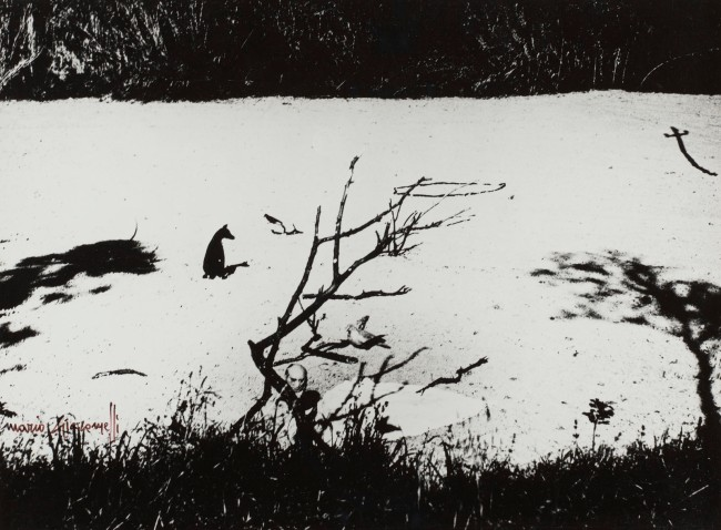 Mario Giacomelli (Italian, 1925-2000) 'I Would Like to Tell This Memory' (Questo ricordo lo vorrei raccontare) 2000
