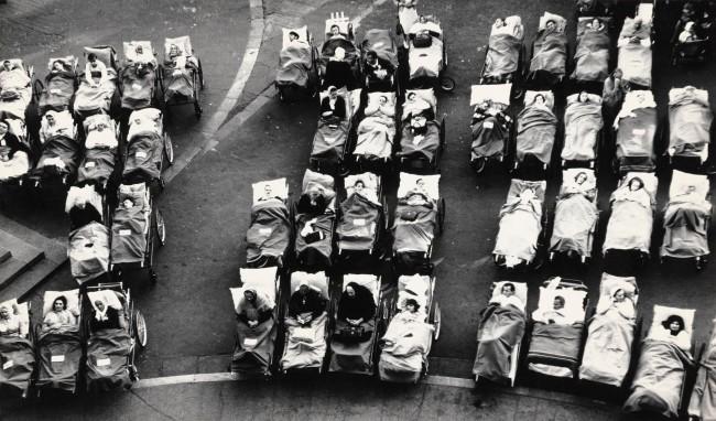 Mario Giacomelli (Italian, 1925-2000) 'Lourdes' 1957