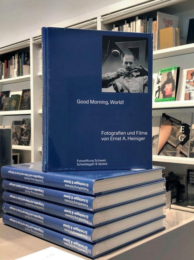 'Ernst A. Heiniger – Good Morning, World!' book cover