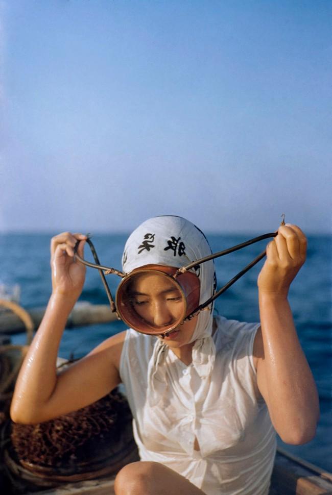 Ernst A. Heiniger (Swiss, 1909-1993) 'Seaweed diver, film scene from 'Ama Girls' (USA, 1958)' around 1956
