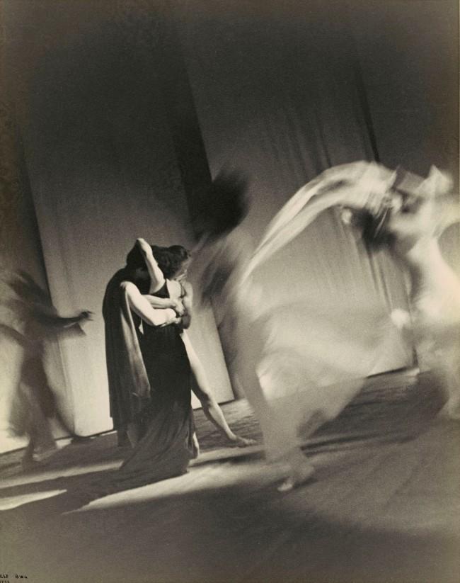"""Ilse Bing (German, 1899-1998) 'Ballet """"L'Errante"""", Paris' 1933"""