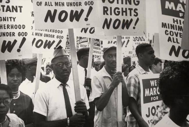 Leonard Freed (American, 1929-2006) 'March on Washington, Washington, D.C.' August 28, 1963
