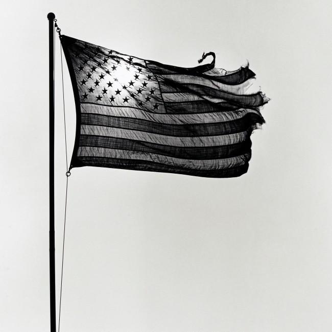 Robert Mapplethorpe (American, 1946-1989) 'American Flag' 1977
