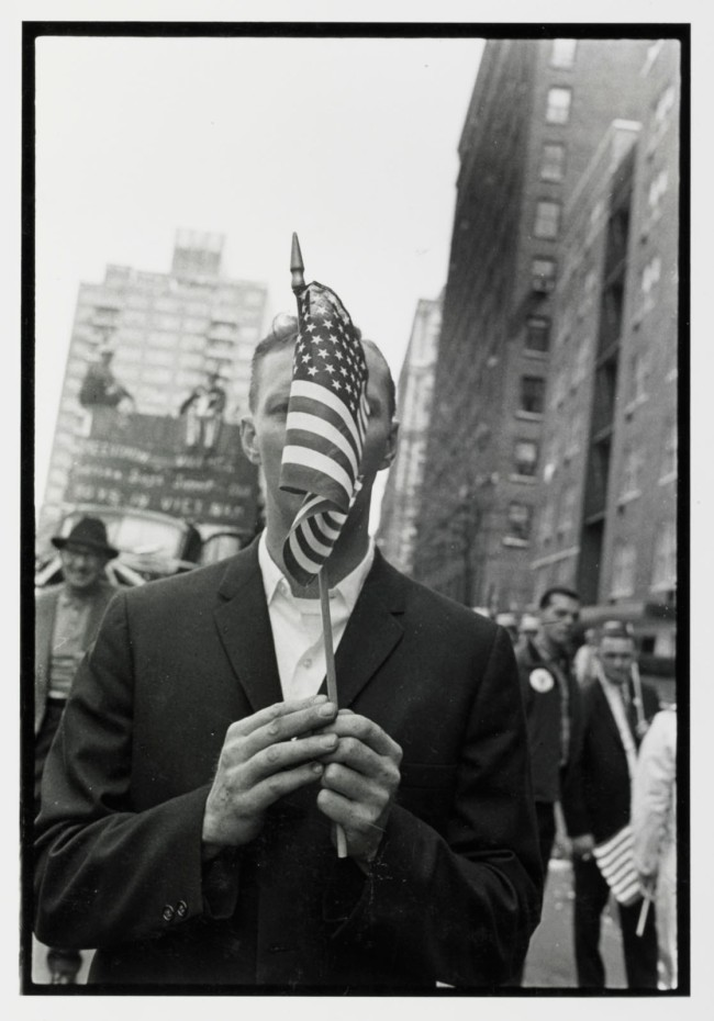 Mary Ellen Mark (American, 1940-2015) 'Vietnam Pro Demonstration' 1968