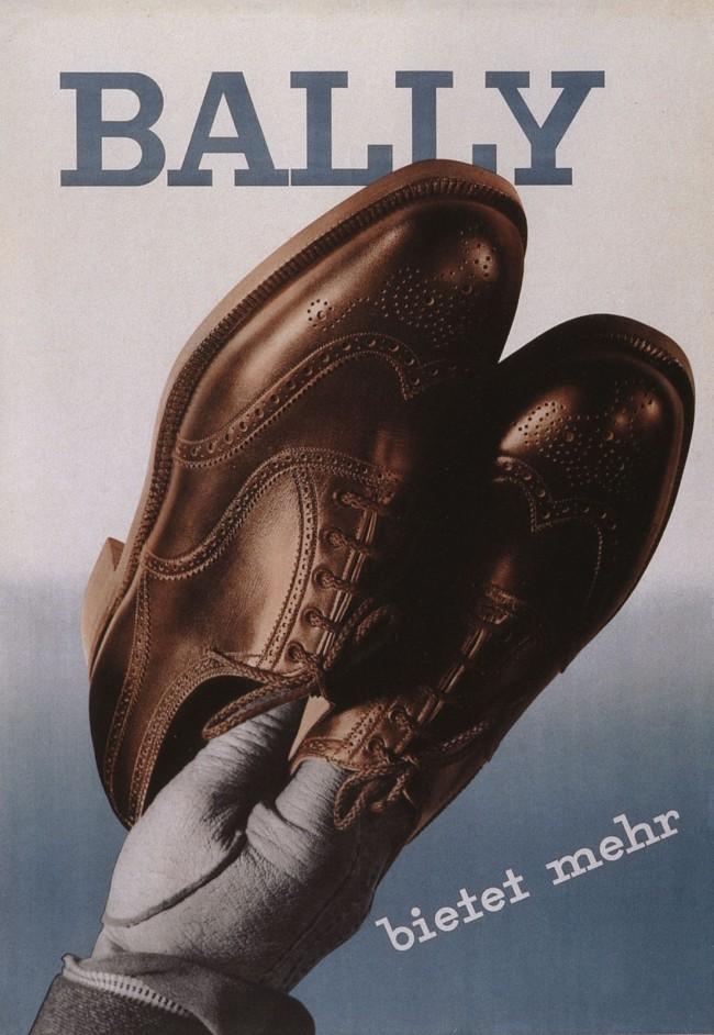 Heiri Steiner (Swiss, 1906-1983) (designer) Ernst A. Heiniger (Swiss, 1909-1993) (photographer) 'Bally Shoes poster' 1936